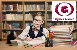 revisión escolar de la vista en óptica de confianza