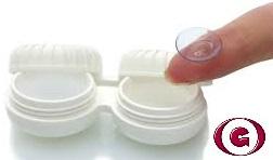 limpieza de las lentes semirrígidas