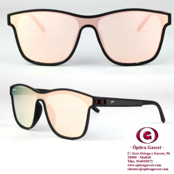 gafas Aura rosa, de Gran Hermano Duo de Mediaset