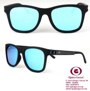 Gafas de sol 1+ Sunglasses Davi azul espejo