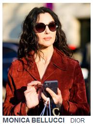 Mónica Bellucci con gafas de sol