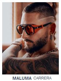 Maluma con gafas de sol
