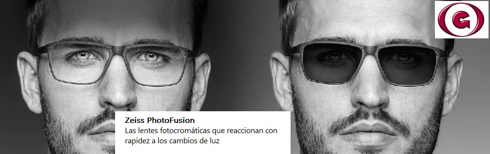 Gafas fotocromáticas PhotoFusion de Zeiss