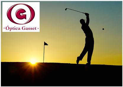 Lentes polarizadas para actividades al aire libre como el golf