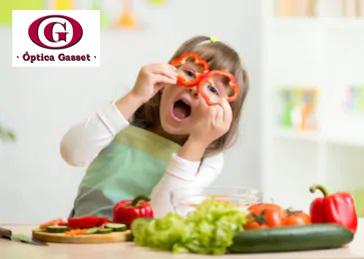 Alimentos saludables para tu vista