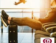 Viajar en avión con lentillas