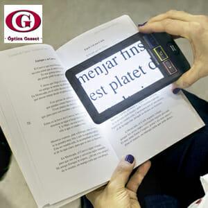 Las ayudas electrónicas facilitan la realización de ciertas tareas con baja visión.