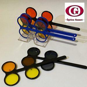 Los filtros selectivos permiten mejorar la agudeza visual en casos de baja visión