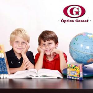 La vuelta al cole es una buena oportunidad para comprobar la correcta salud ocular del niño
