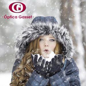 Durante el invierno, protege tu vista