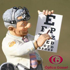 El óptico-optometrista es el especialista de la visión